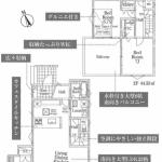 新築一戸建て ふじみ野市大井中央 間取図(間取)