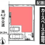 新築一戸建て 新座市池田 区画図(間取)