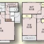 新築一戸建て 所沢市久米 間取図(間取)