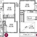 新築一戸建て 所沢市荒幡 間取(間取)