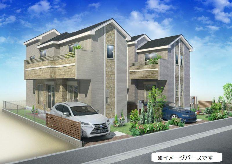 新築一戸建て 富士見市下南畑 1号棟 3,680万円
