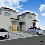 新築一戸建て 所沢市下安松 6号棟 2,680万円