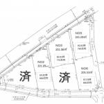 土地 川越市下広谷 区画図(間取)