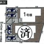 新築一戸建て 所沢市小手指南 区画図(間取)