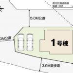 新築一戸建て 東久留米市神宝町 区画図(間取)