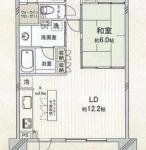 中古マンション 入間市東藤沢 間取(間取)