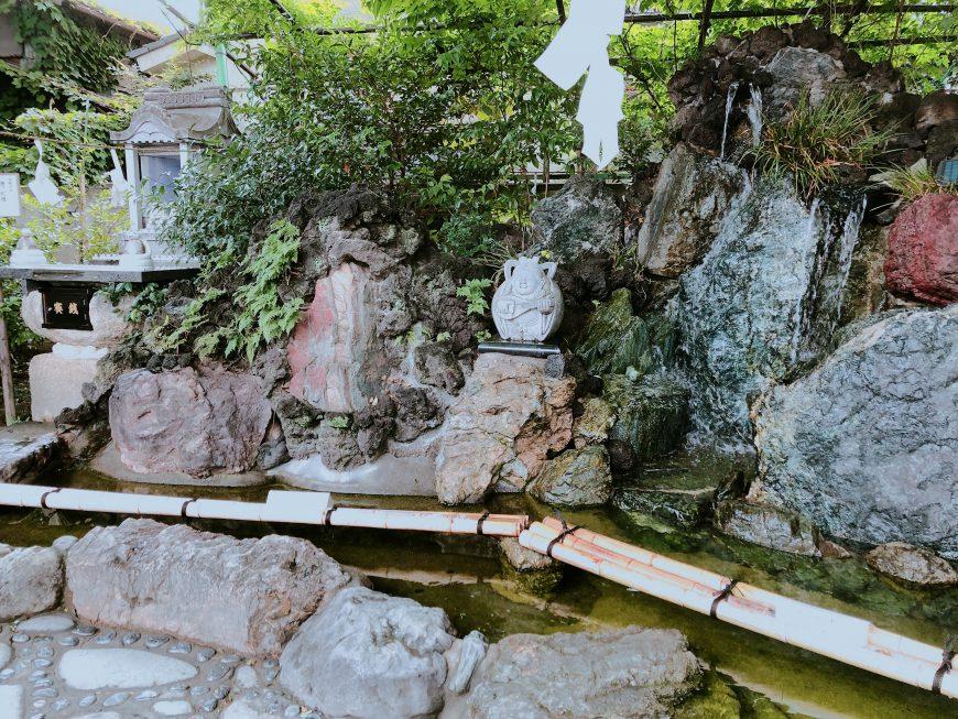 川越熊野神社 宝池