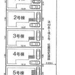 所沢市向陽町 新築一戸建 3号棟  区画図