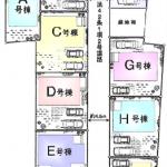 新築一戸建て 東久留米市下里 区画図(間取)