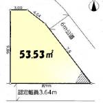 土地 新座市石神 区画図(間取)