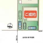 新築一戸建て 川越市的場 区画図(周辺)