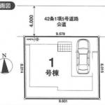 新築一戸建て 川越市木野目 区画図(間取)