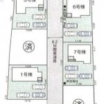 下小坂区画図(周辺)