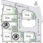 新築一戸建て所沢市下安松区画図(間取)