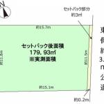 土地 所沢市小手指元町 区画(間取)