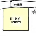 土地 所沢市小手指南 区画図(間取)