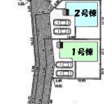 新築一戸建て 所沢市三ヶ島 区画図(間取)