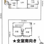 中古一戸建て 入間市下藤沢 間取(間取)
