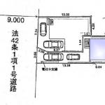 新築一戸建て 所沢市東狭山ヶ丘 区画図(間取)