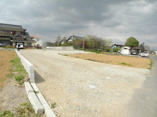 南から見た協定道路(外観)