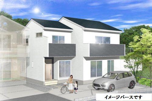 新築一戸建て 富士見市鶴馬 1号棟 5,980万円