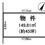 土地 入間市東町 区画図(間取)