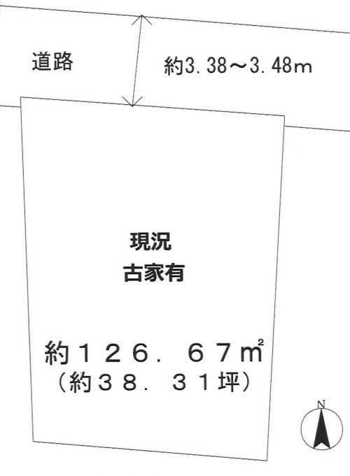 土地 入間市鍵山2丁目 980万円