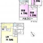 新築一戸建て 所沢市荒幡 間取図(間取)
