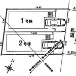 新築一戸建て 所沢市北有楽町 区画図(間取)