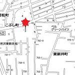 中古一戸建て 所沢市こぶし町地図(地図)