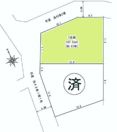 区画図(間取)