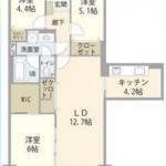 中古マンション 狭山市北入曽 間取(間取)