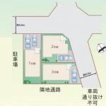 新築一戸建て 所沢市緑町 区画図(間取)