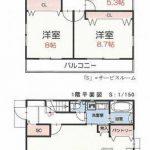新築一戸建て 富士見市関沢 間取り図(間取)