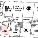 新築一戸建て 所沢市北岩岡 区画図(間取)