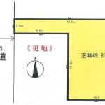 土地 東久留米市前沢 区画図(間取)