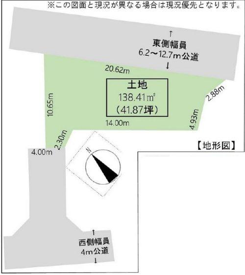 区画図(外観)