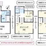 新築一戸建て 所沢市林 間取図(間取)